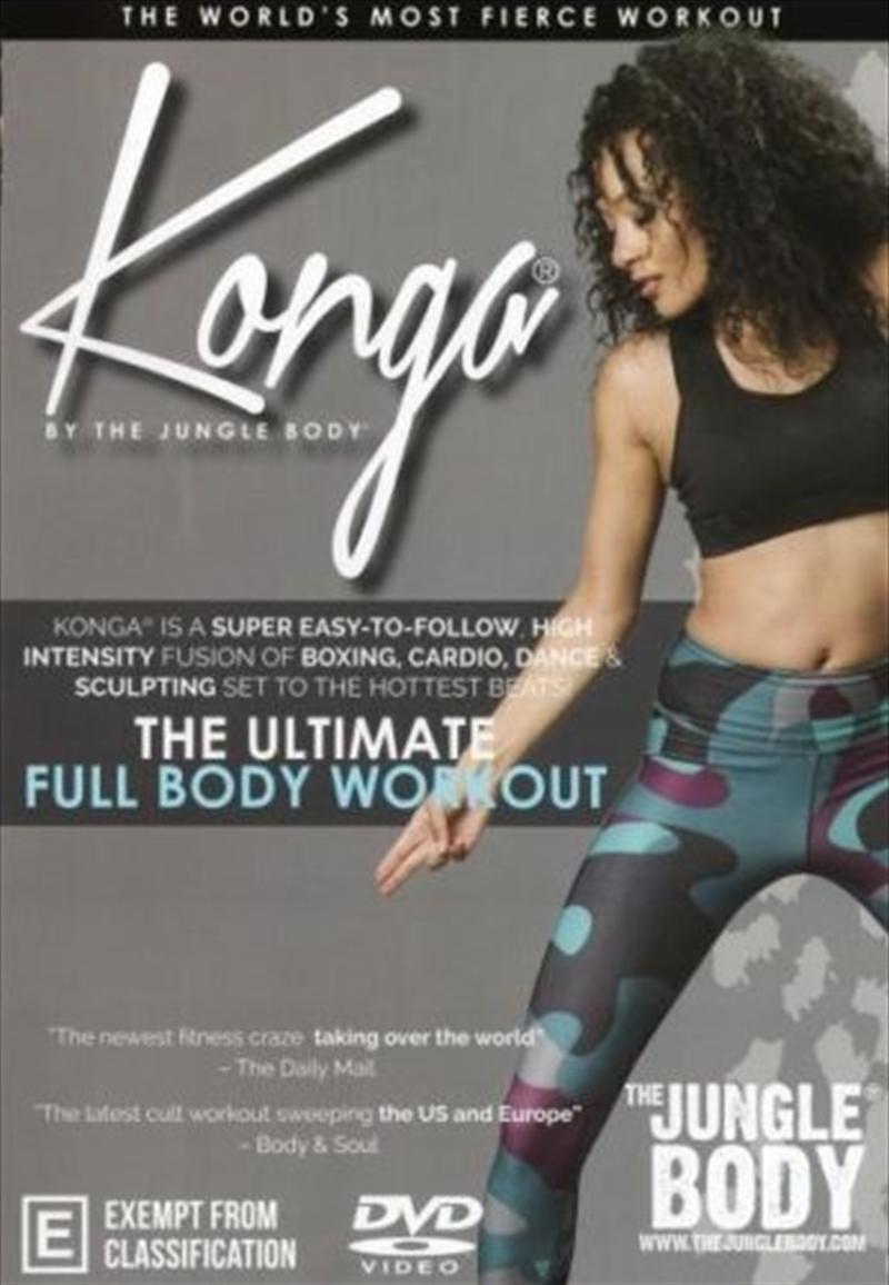 Konga Workout   DVD