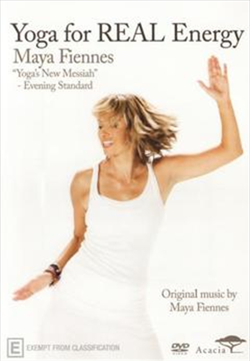 Maya Fiennes: Yoga For Real Energy | DVD