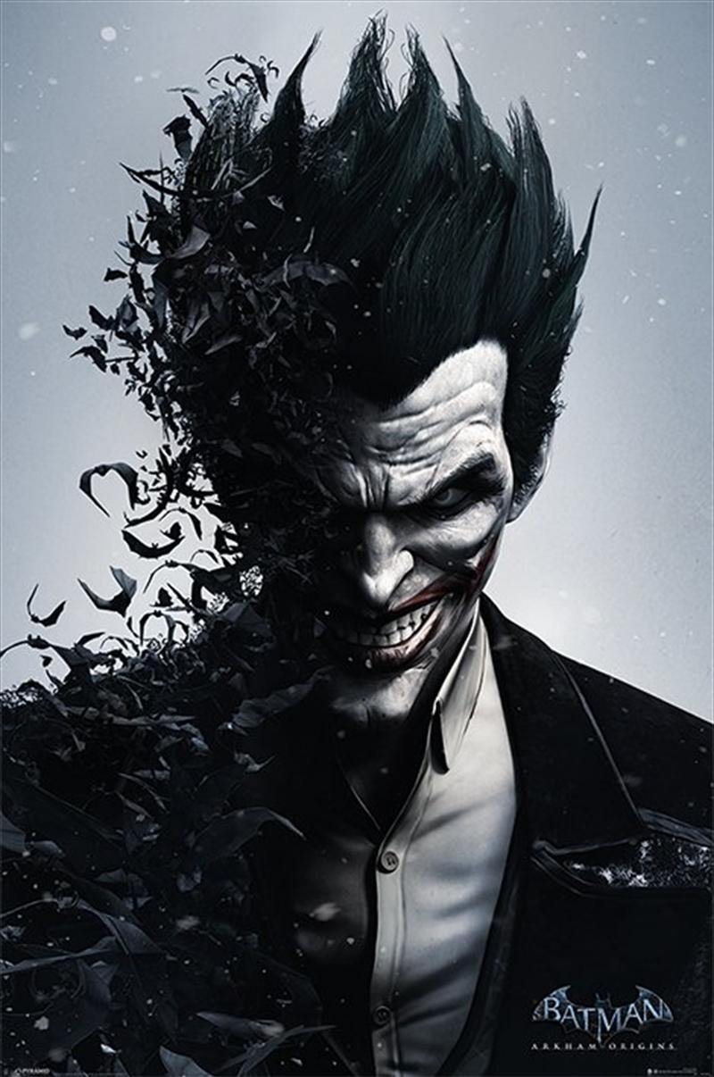 Batman Arkham Joker Bats Poster | Merchandise