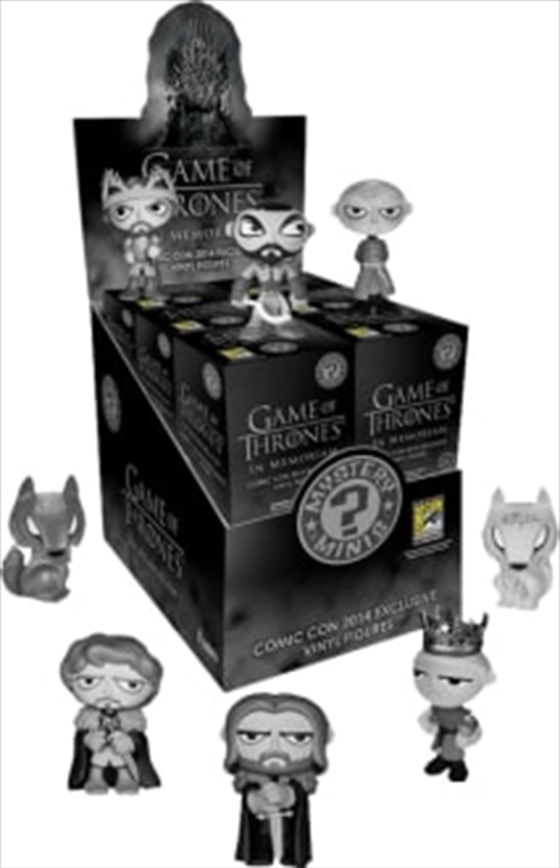Game of Thrones - Mystery Minis In Memoriam SDCC 2014 US Exclusive Blind Box | Merchandise