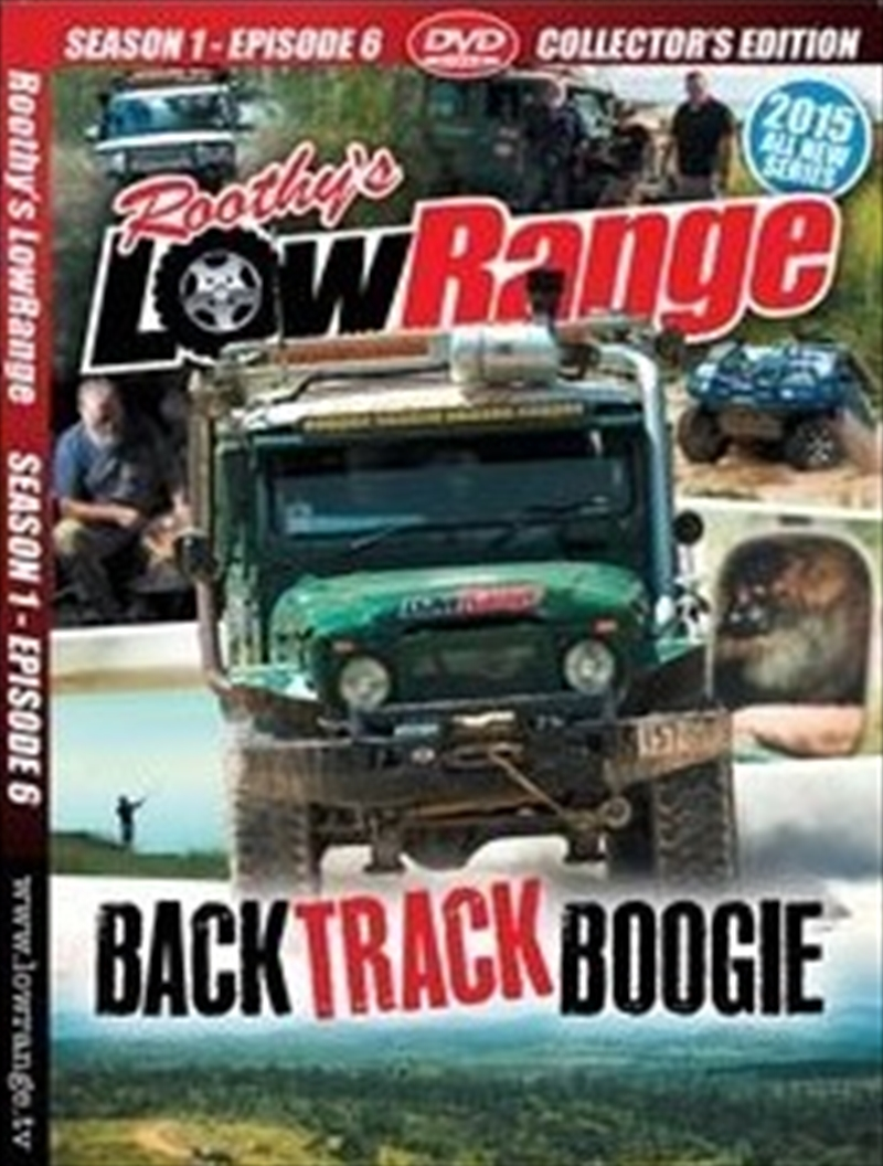 Lowrange: S1 E6: Back Track Bo   DVD