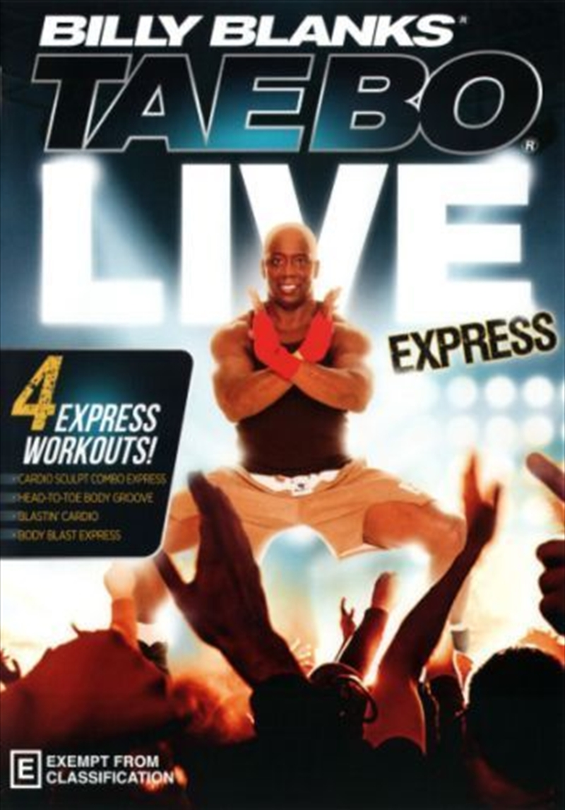 Billy Blanks: Tae Bo Live Express | DVD