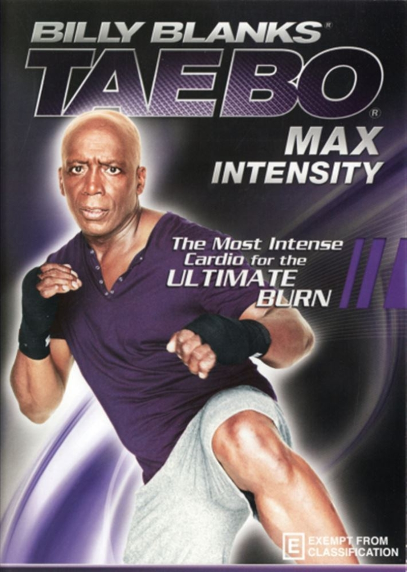 Billy Blanks: Tae Bo Max Intensity | DVD