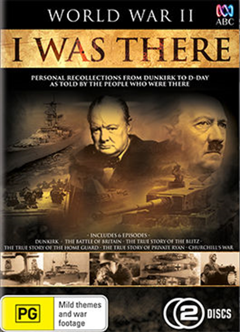 World War II: I Was There | DVD
