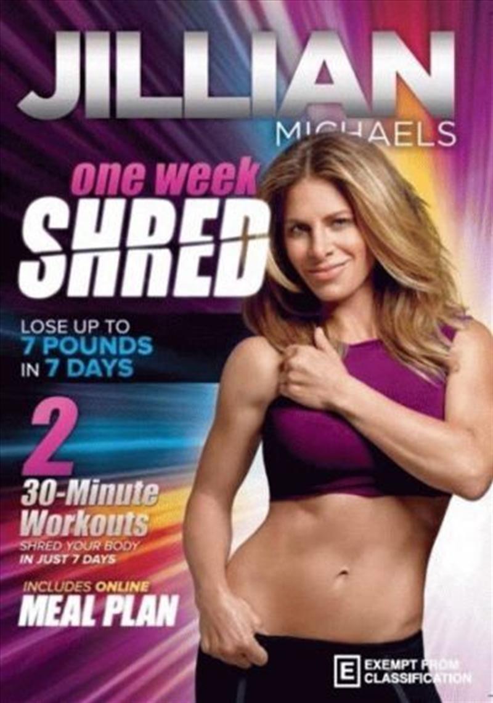 One Week Shred | DVD