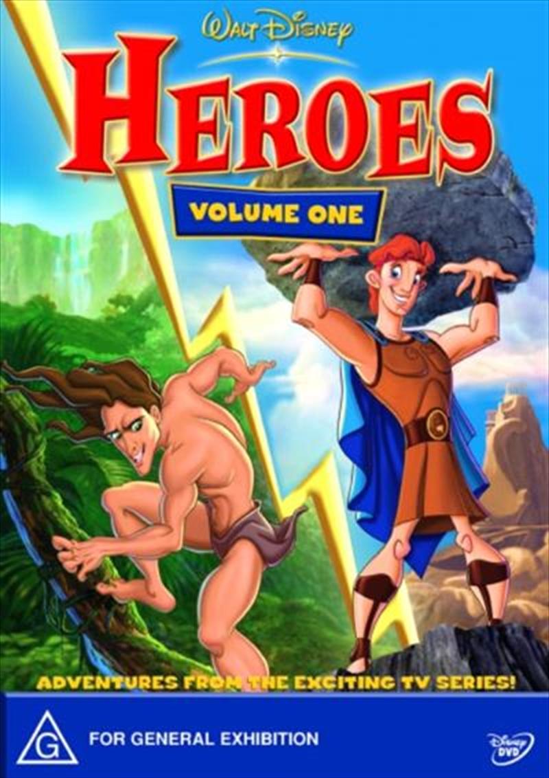 Disney Heroes | DVD