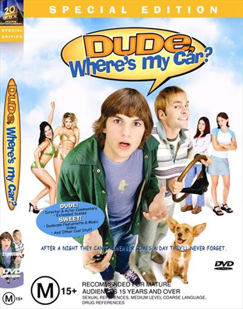 Dude Where's My Car? | DVD