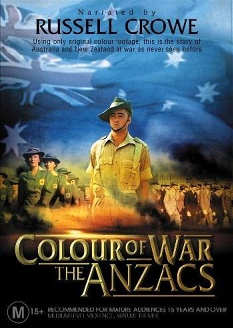 Anzac Colour Of War | DVD