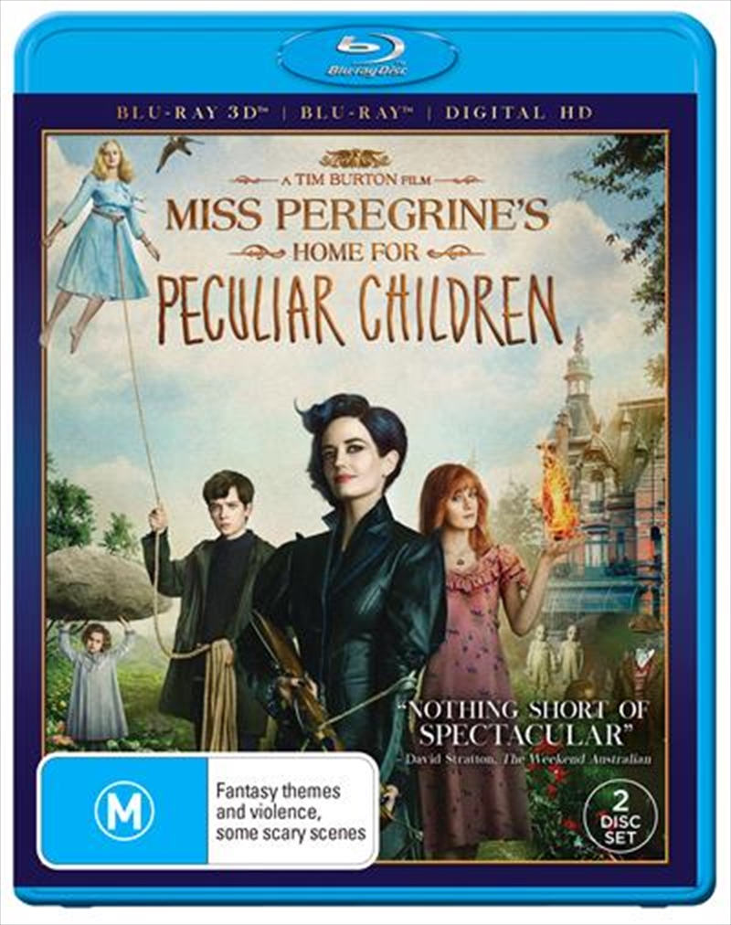 Miss Peregrine's Home For Peculiar Children | 3D Blu-ray + Blu-ray + DHD