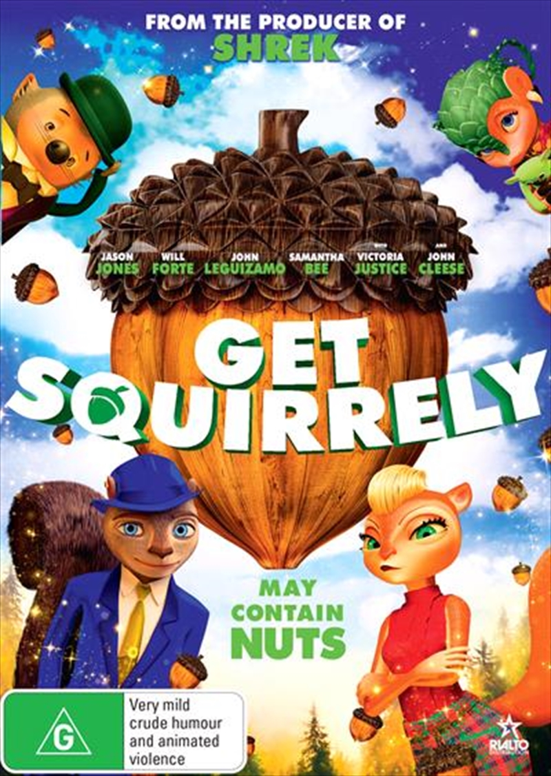 Get Squirrely   DVD