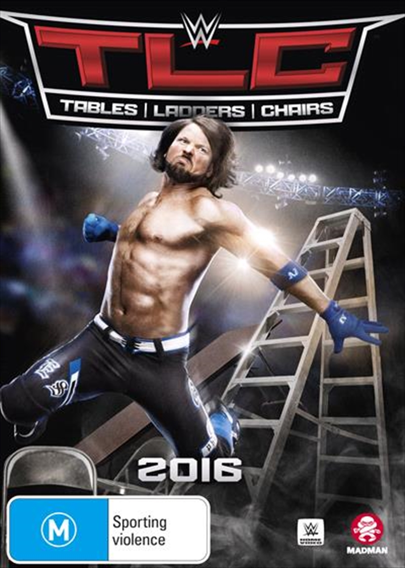 WWE - TLC - Tables, Ladders, Chairs 2016 | DVD