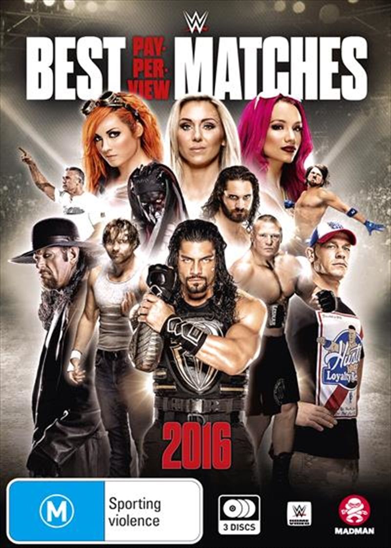 WWE - Best Pay-Per-View Matches Of 2016 | DVD