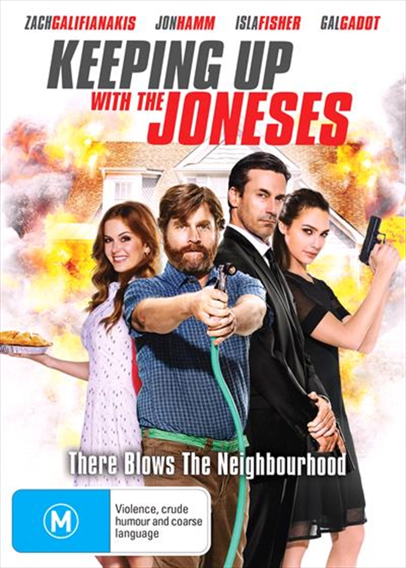 Keeping Up With The Joneses | DVD