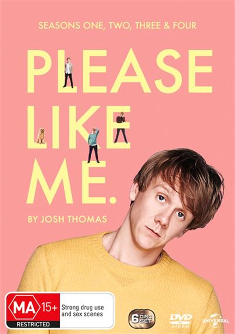 Please Like Me - Series 1-4 | Boxset | DVD