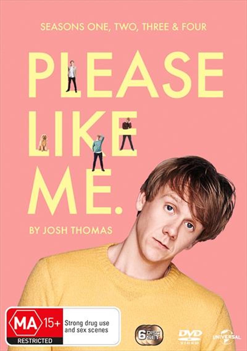 Please Like Me - Series 1-4 | Boxset | DVD