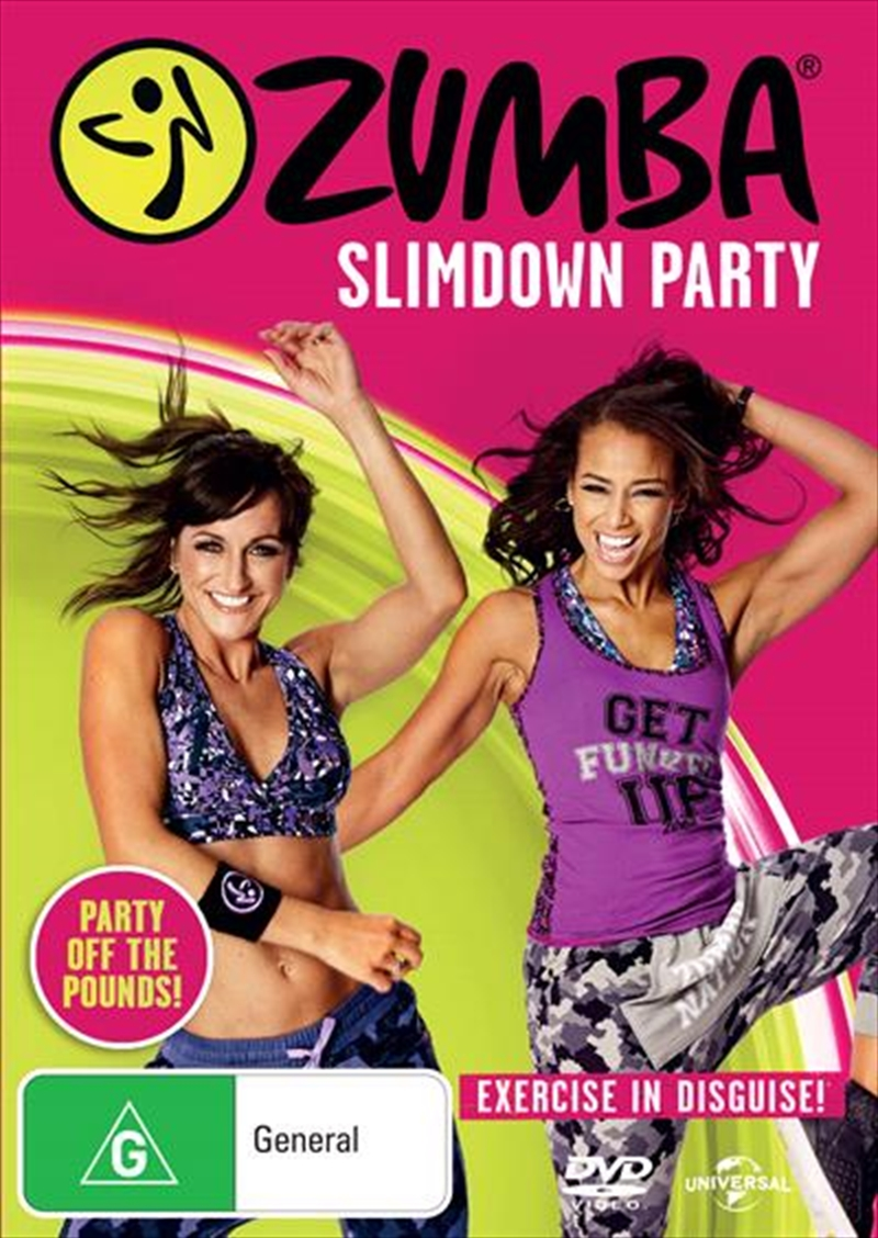Zumba Slimdown Party | DVD