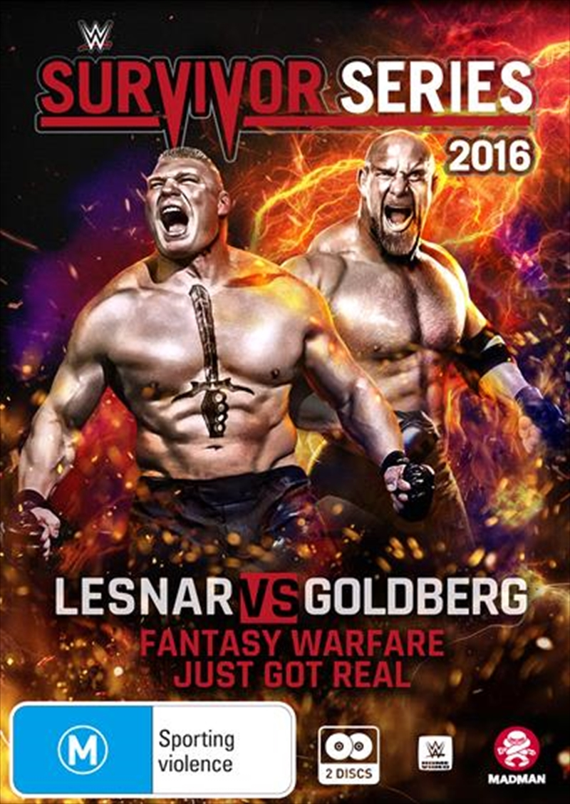 WWE - Survivor Series 2016 | DVD