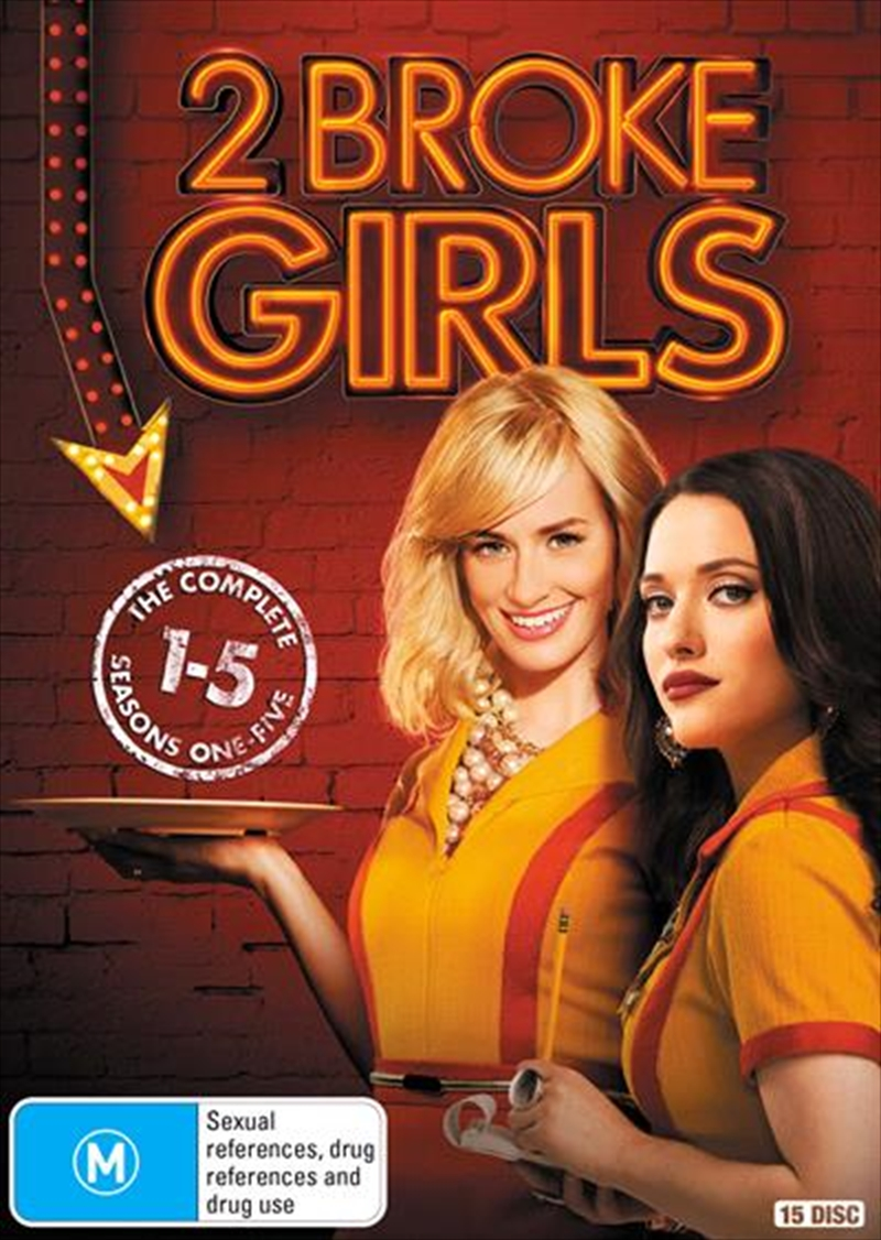 2 Broke Girls - Season 1-5 | Boxset | DVD