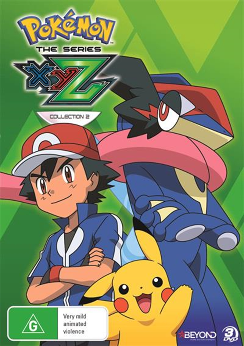 Buy Pokemon The Series Xyz Collection 2 On Dvd Sanity