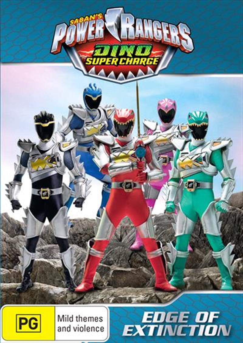 Dino Super Charge - Edge Of Extinction   DVD