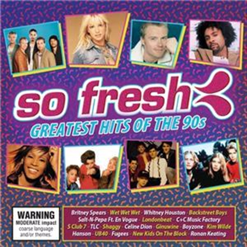 So Fresh: Greatest Hits Of The 90s | CD