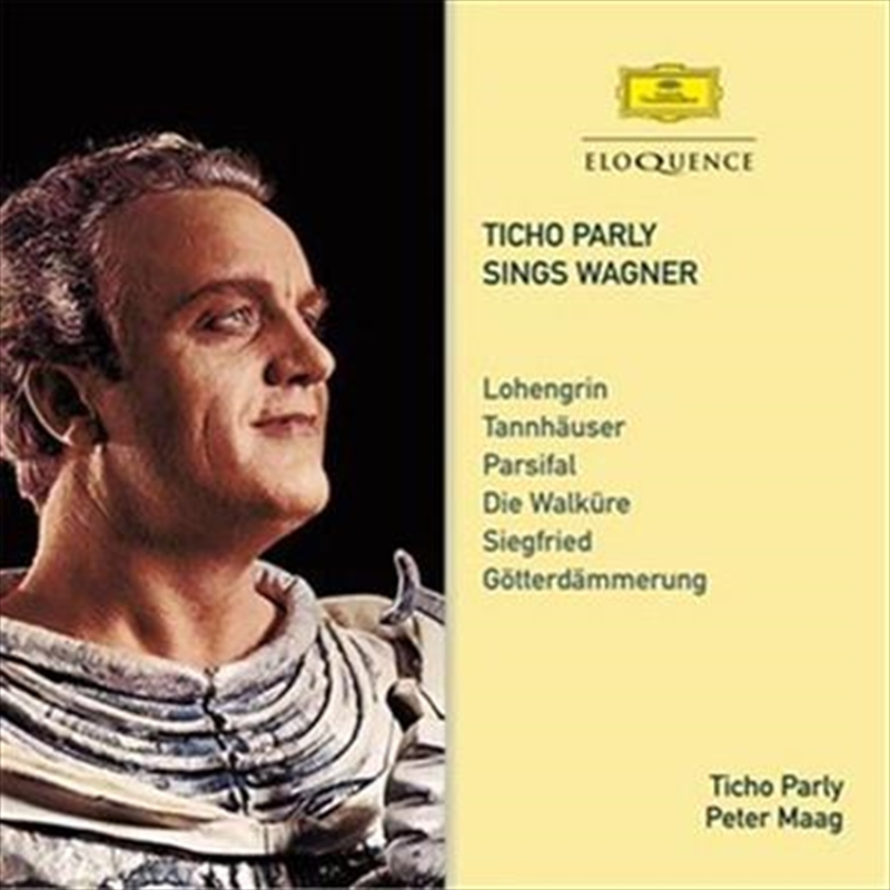 Ticho Parly Sings Wagner   CD