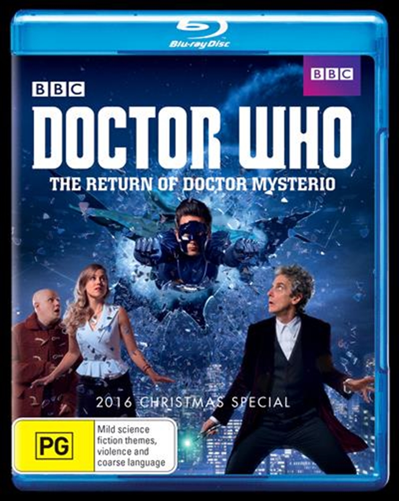 Doctor Who - The Return Of Doctor Mysterio | Blu-ray