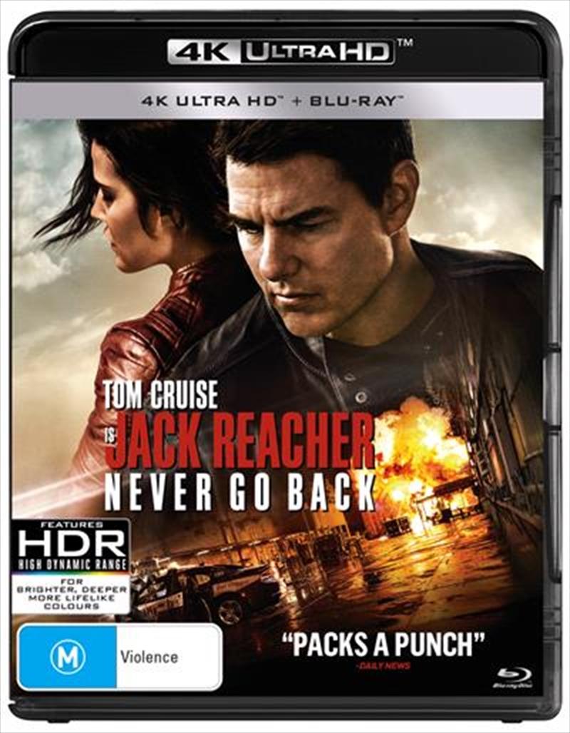 Jack Reacher - Never Go Back | UHD