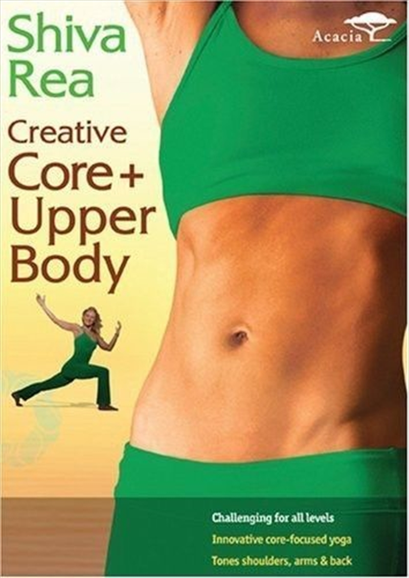 Shiva Rea: Creative Core Upper | DVD