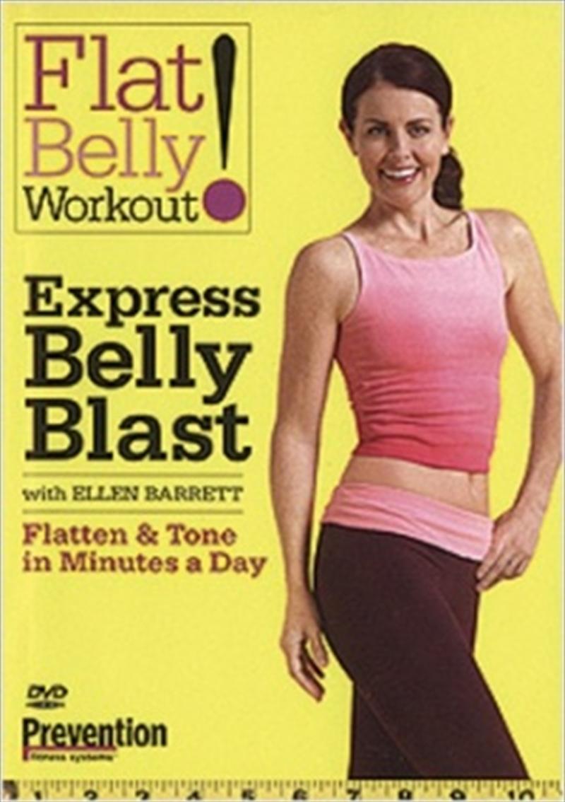 Express Belly Blast   DVD