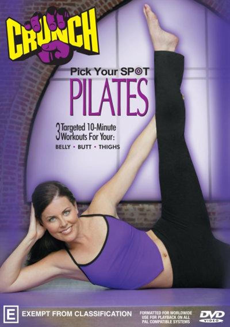 Crunch Pick Your Spot Pilates | DVD