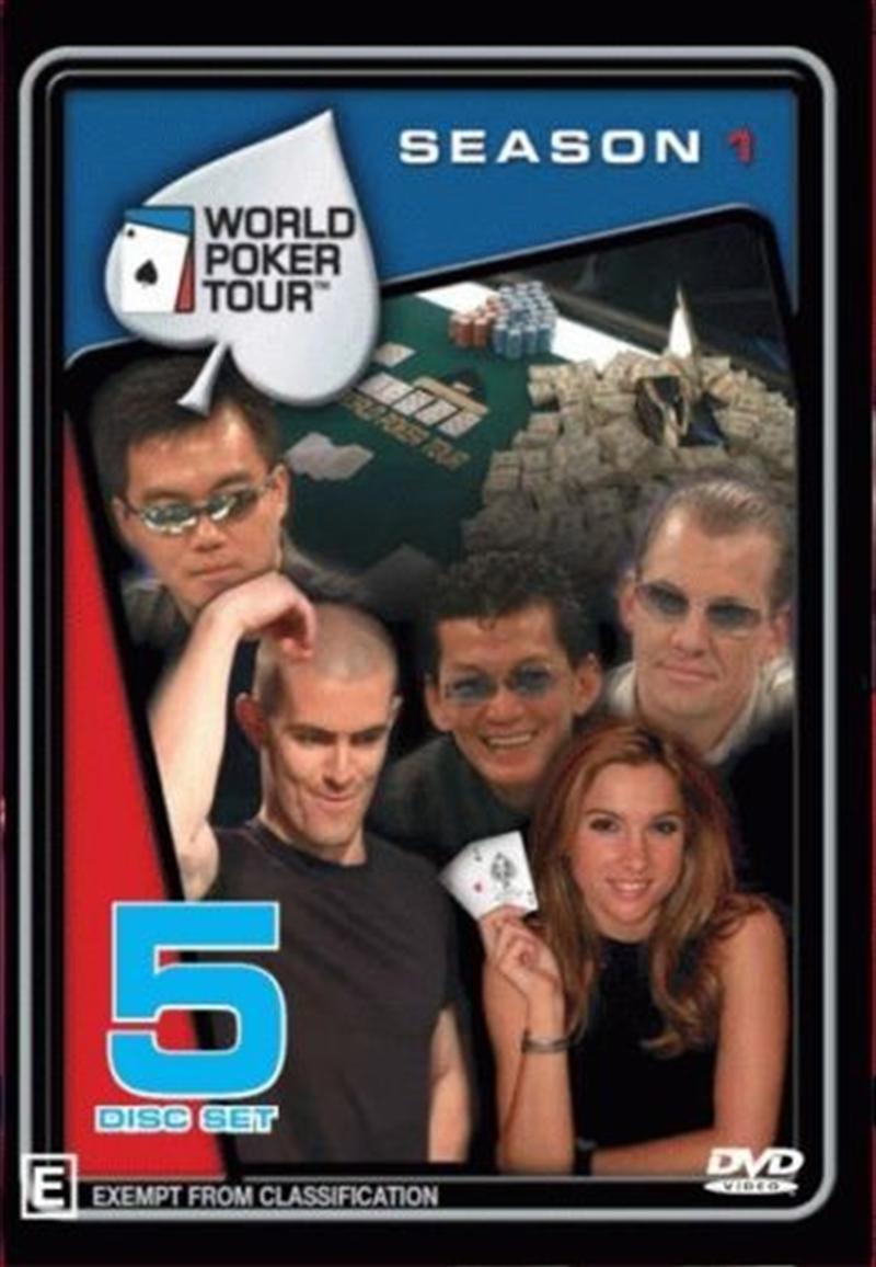 World Poker Tour; S1: 5dvd   DVD