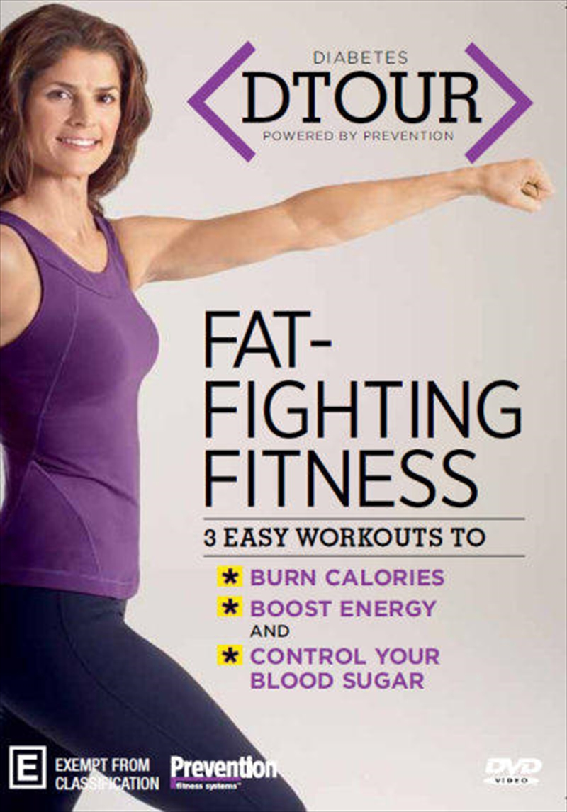 Diabetes Dtour: Fat Fighting Fitness | DVD