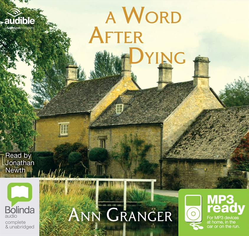 A Word After Dying | Audio Book