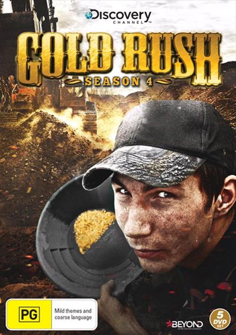 buy gold rush season 4 on dvd sanity online