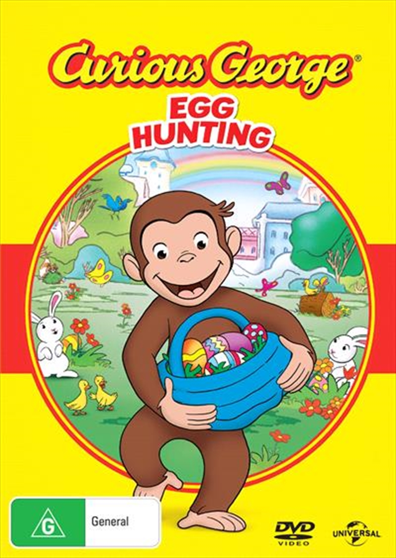 Curious George - Egg Hunt | DVD