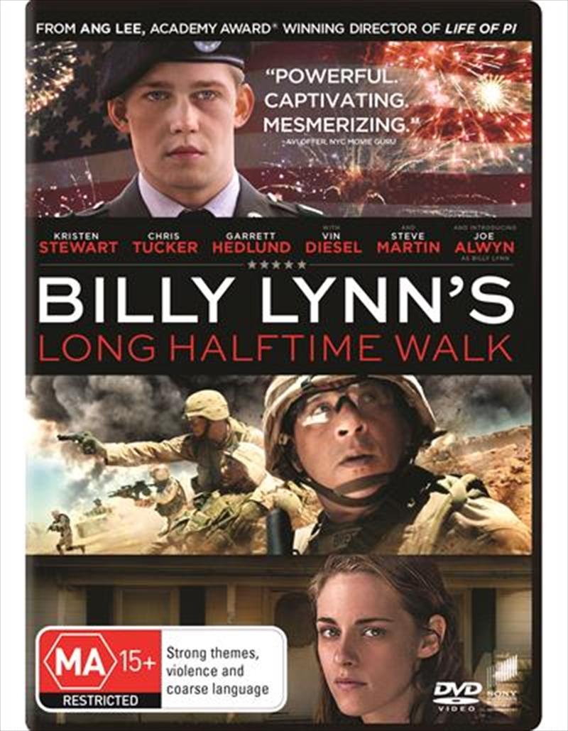Billy Lynn's Long Halftime Walk   DVD