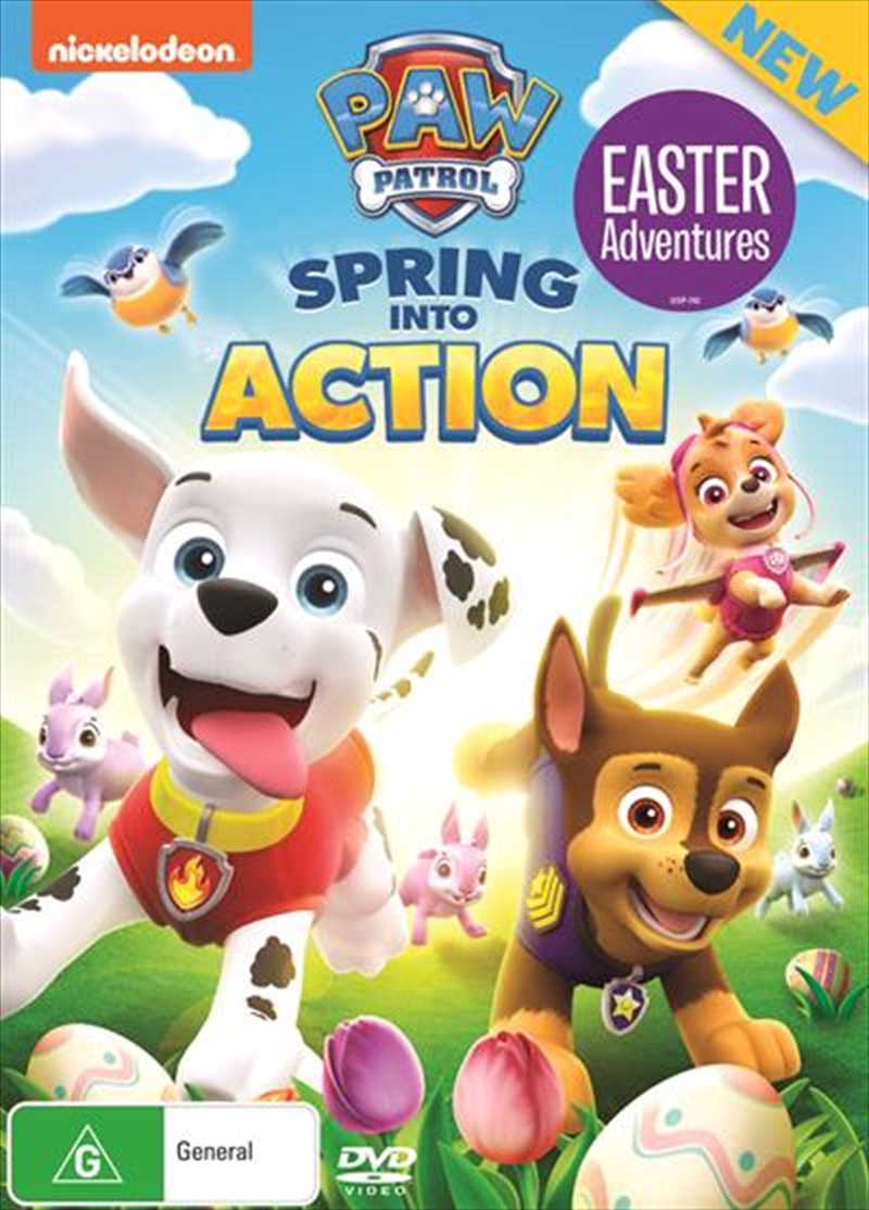 Paw Patrol - Spring Into Action | DVD