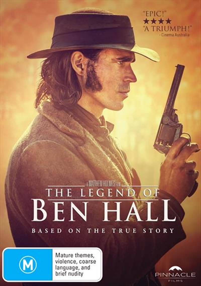 Legend Of Ben Hall, The | DVD