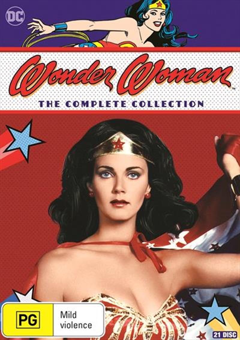 Wonder Woman - Season 1-3 | Boxset | DVD