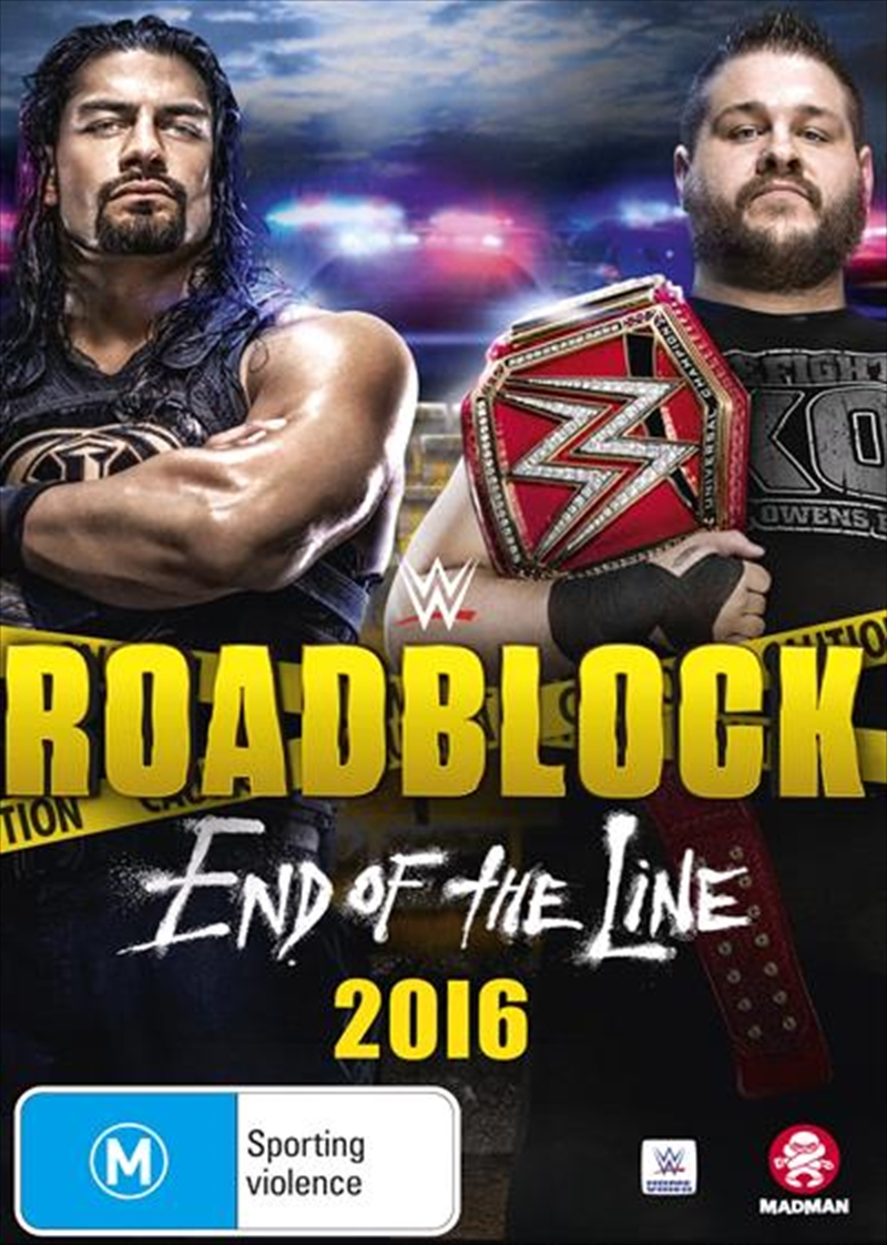 WWE - Roadblock 2016 | DVD