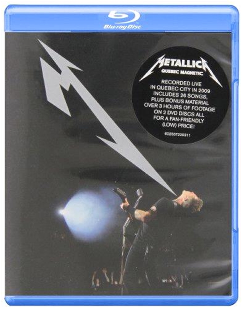 Quebec Magnetic 2012   Blu-ray