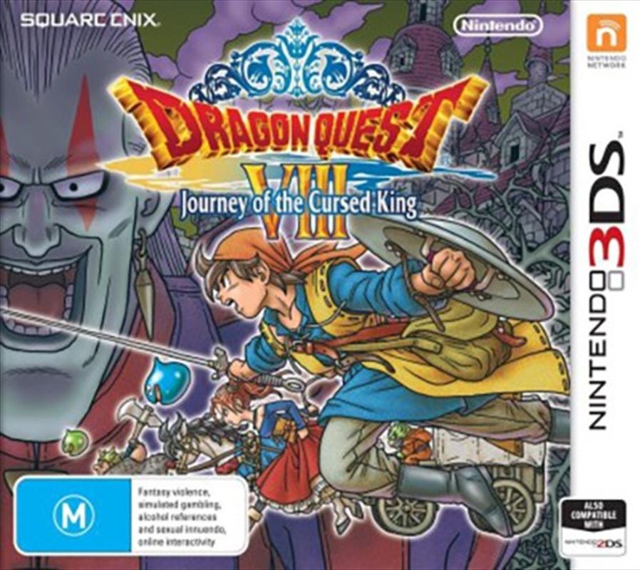 Dragon Quest 8 Journey Cursed