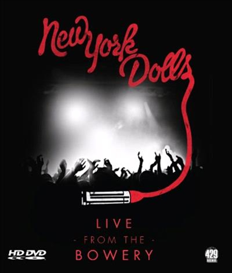 New York Dolls- Live At The Bowery [blu-Ray] | Blu-ray