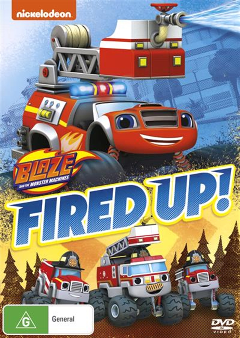 Blaze And The Monster Machines - Fired Up!   DVD