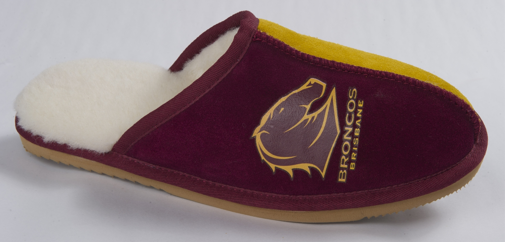 Broncos Adult Slippers   Apparel