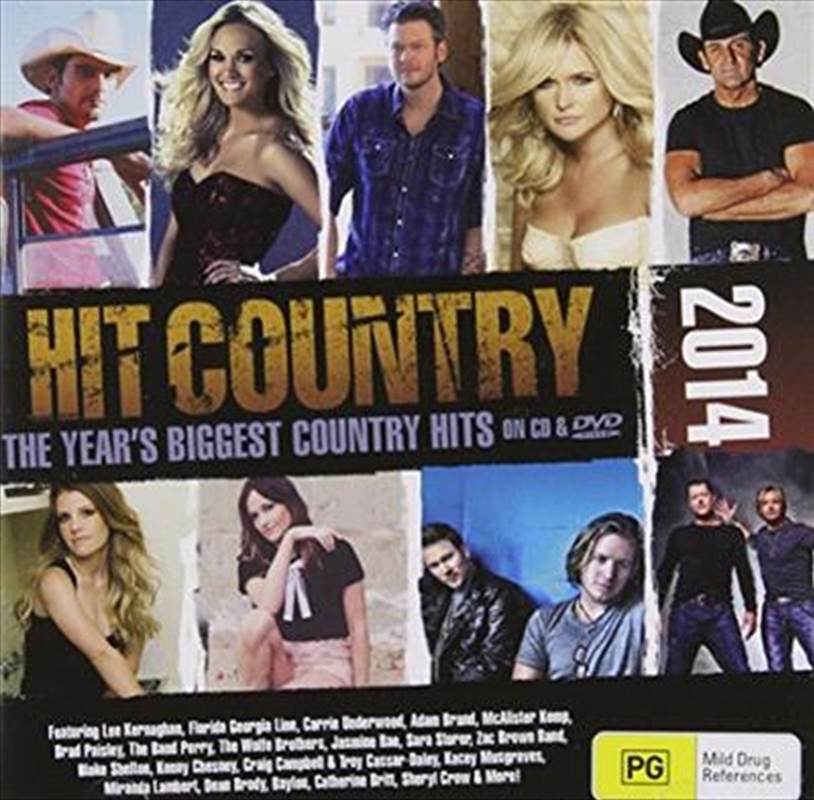 Hit Country 2014 (cdanddvd)
