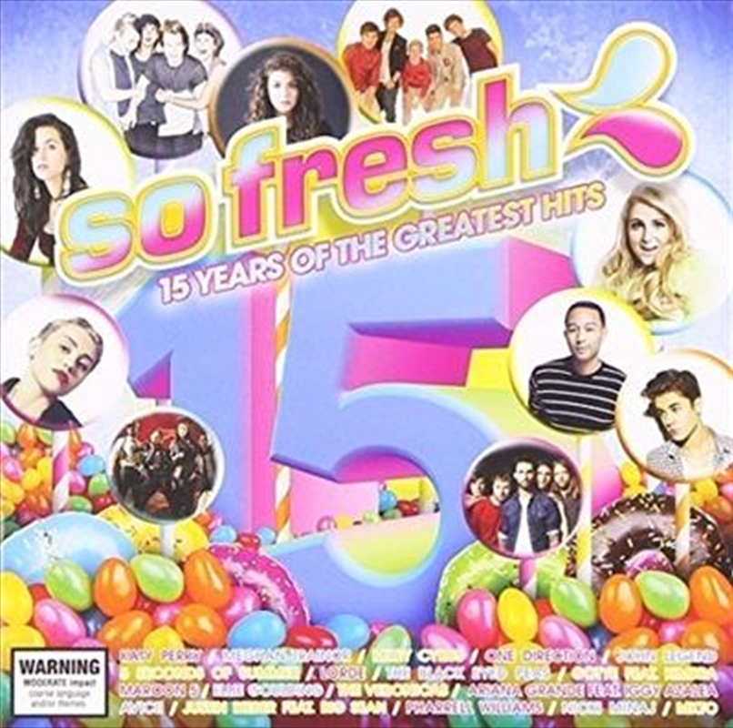 So Fresh- 15 Years Of The Greatest Hits (2cd) | CD