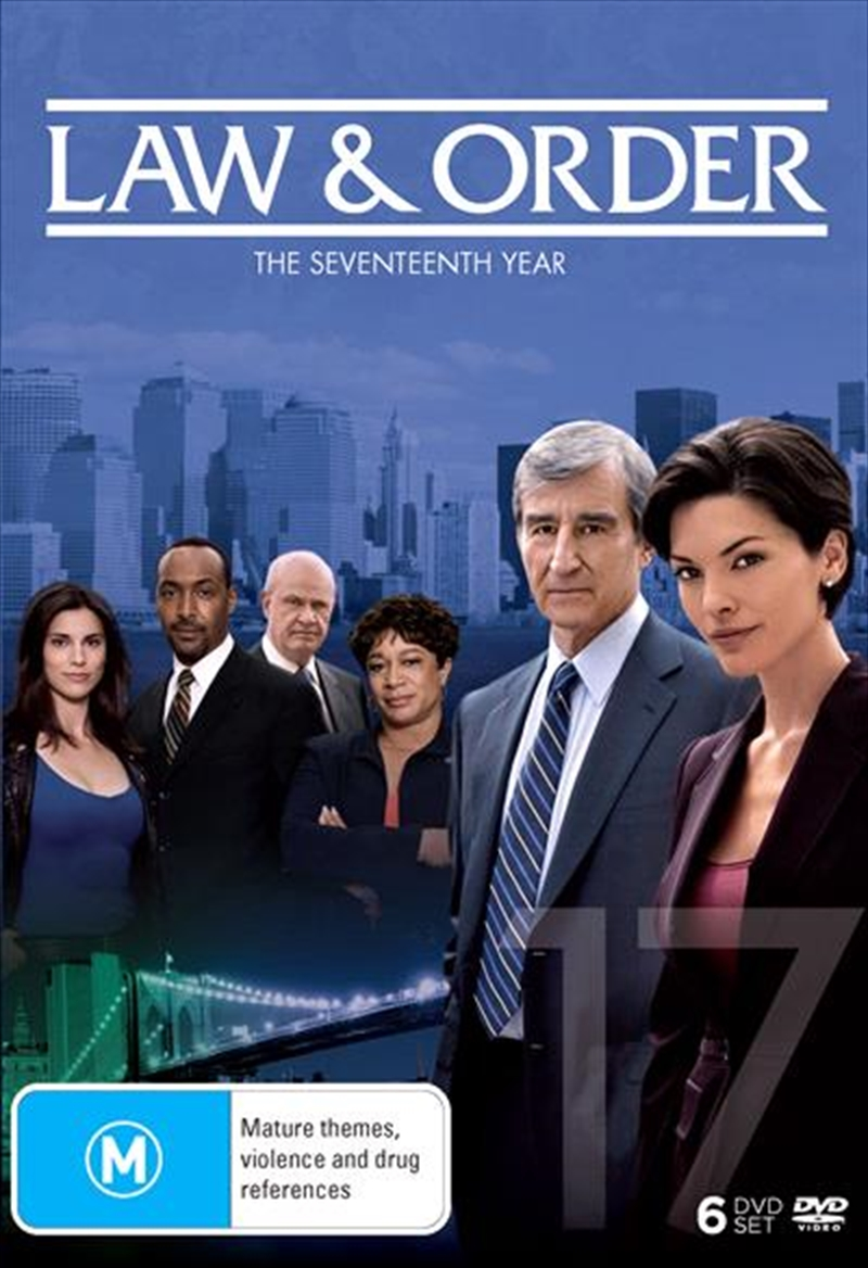 Law And Order - Season 17 | DVD