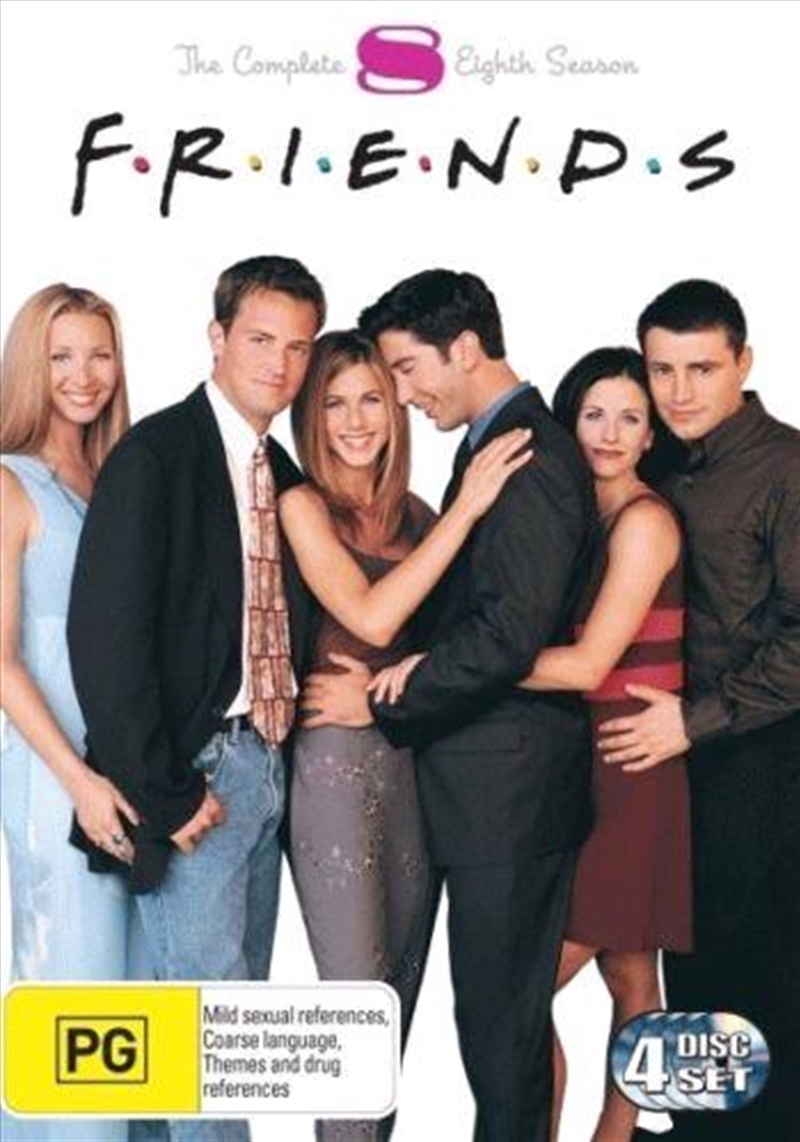 Friends - The Complete Eigth Season | DVD